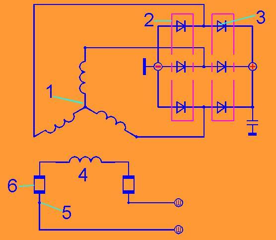 Схема генератора 1601.3701